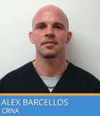 Alexandre A Barcellos, CRNA