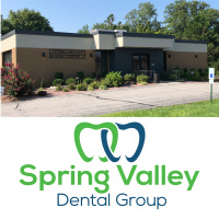Exterior of Spring Valley Dental Group across the street from Schnucks in O'Fallon IL