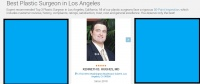 Dr. Kenneth Hughes voted Best Plastic Surgeon in Los Angeles by Three Best Rated 28