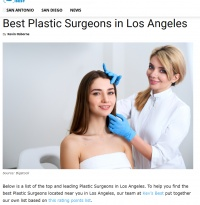 Dr. Kenneth Hughes voted Best Plastic Surgeon in Los Angeles 31