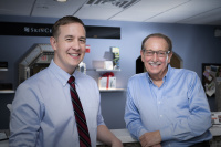 Ross Davis, PA-C and Dr. F. Victor Rueckl, MD