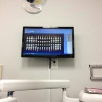 High tech flat screen
