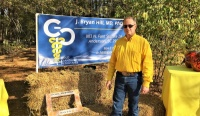 Dr. Hill in the community - Goblinfest at Heritage Park, Simpsonville, SC - October 2016